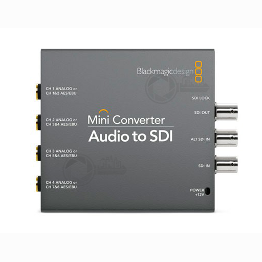 BMD Audio to SDI converter voorkant