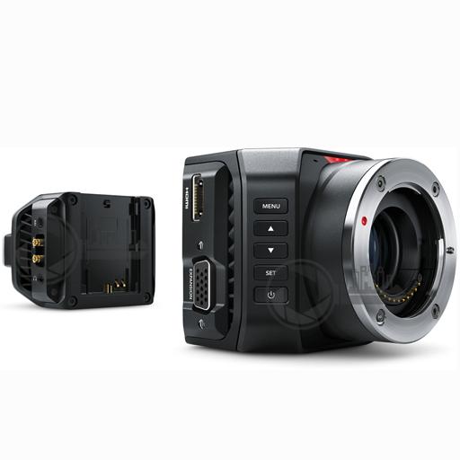 BMD MicroCam 4K voor en achterzijde