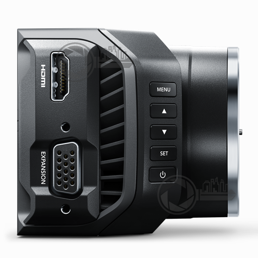 BMD MicroCam 4K right side