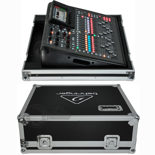 Behringer X32 Compact in flightcase