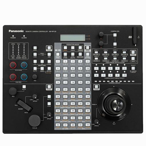 Panasonic AW-RP120 top view