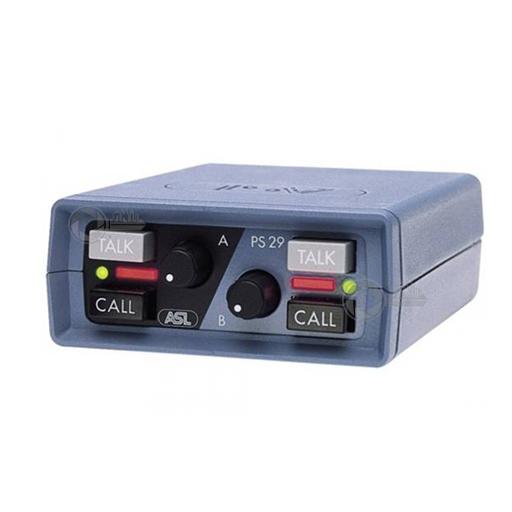 Beltpack 2 Channel PS 29 voor ASL Intercom