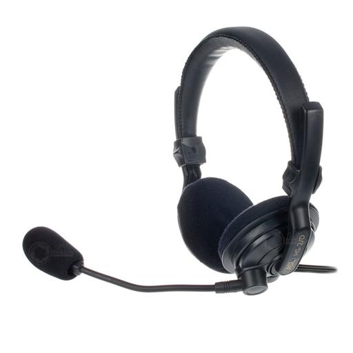 Headset HS 2D voor ASL Intercom