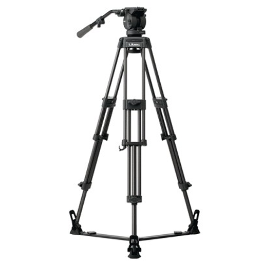 T72 tripod with SP-1 ground spreader and H55 Fluid Head.