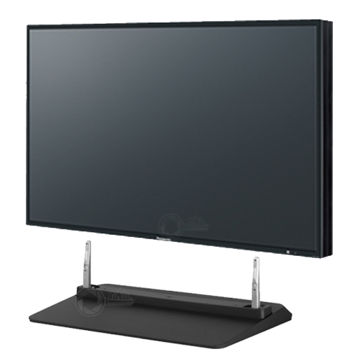 Left front view Panasonic TH-42LF6W including stand