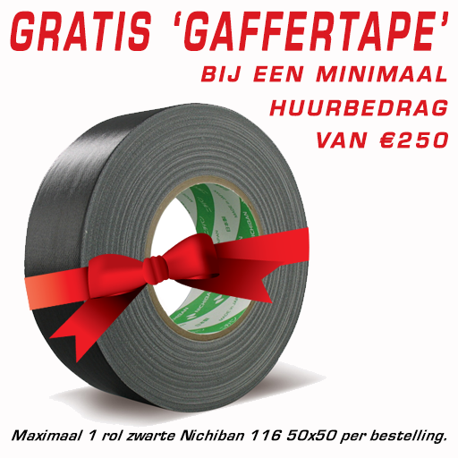 Gratis rol Gaffer tape