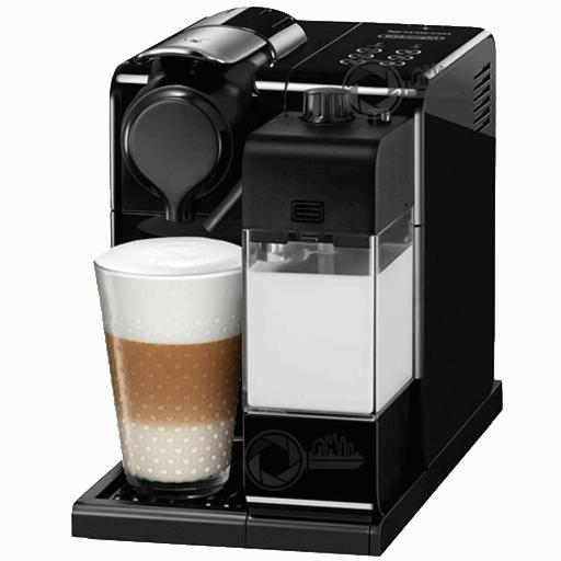 Nespresso Delonghi met melk en Cappuccino