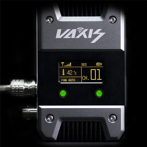 Vaxis Storm 1000+ videozender OLED display