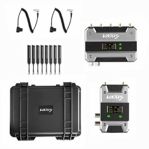 Vaxis Storm 1000+ videozender en ontvanger set met koffer en stroom kabels