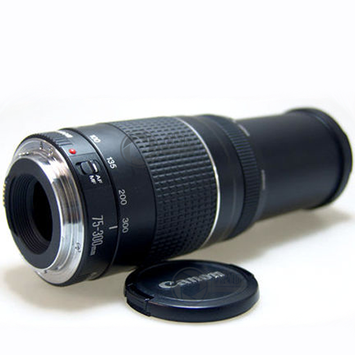 Canon EF 75-300mm f4.0-5.6 telezoom stand