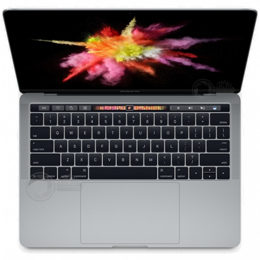 MacBook Pro 13 Touch 2.9 i5 8GB 256GB SpaceGrey boven aanzicht