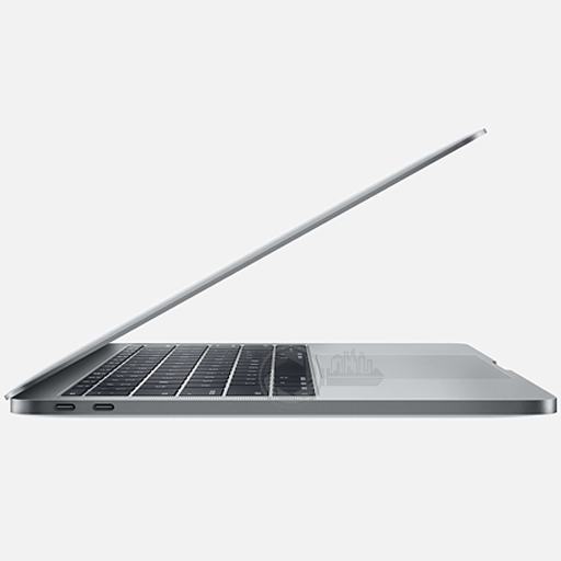 MacBook Pro 13 Touch 2.9 i5 8GB 256GB SpaceGrey zijkant rechts