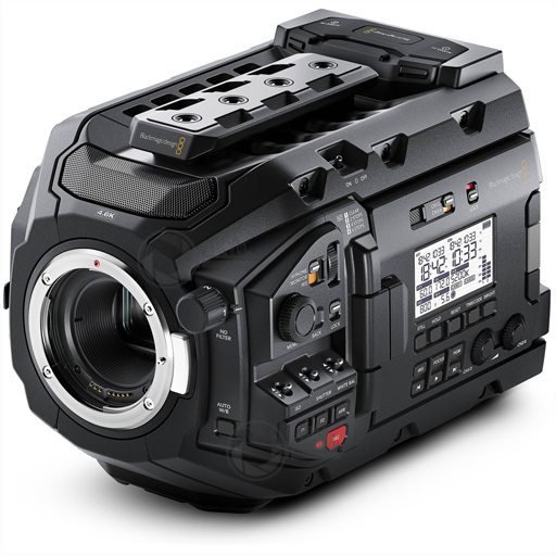 BMD Ursa Mini Pro 4,6K EF without lens