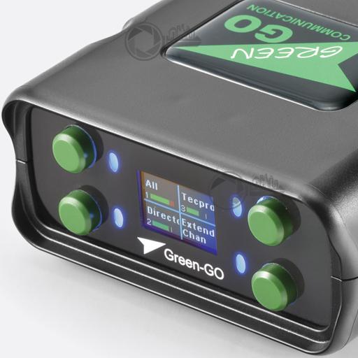 GreenGo BPX display