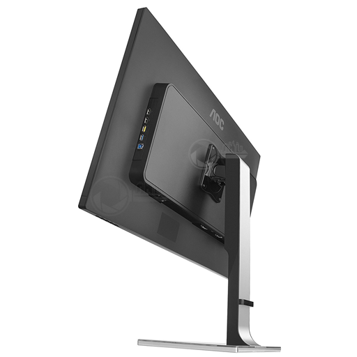 AOC 31,5 inch monitor rear left