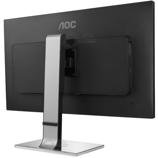 AOC 31,5 inch monitor rear right