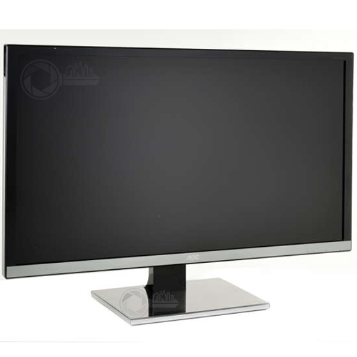 AOC 31,5 inch monitor right front